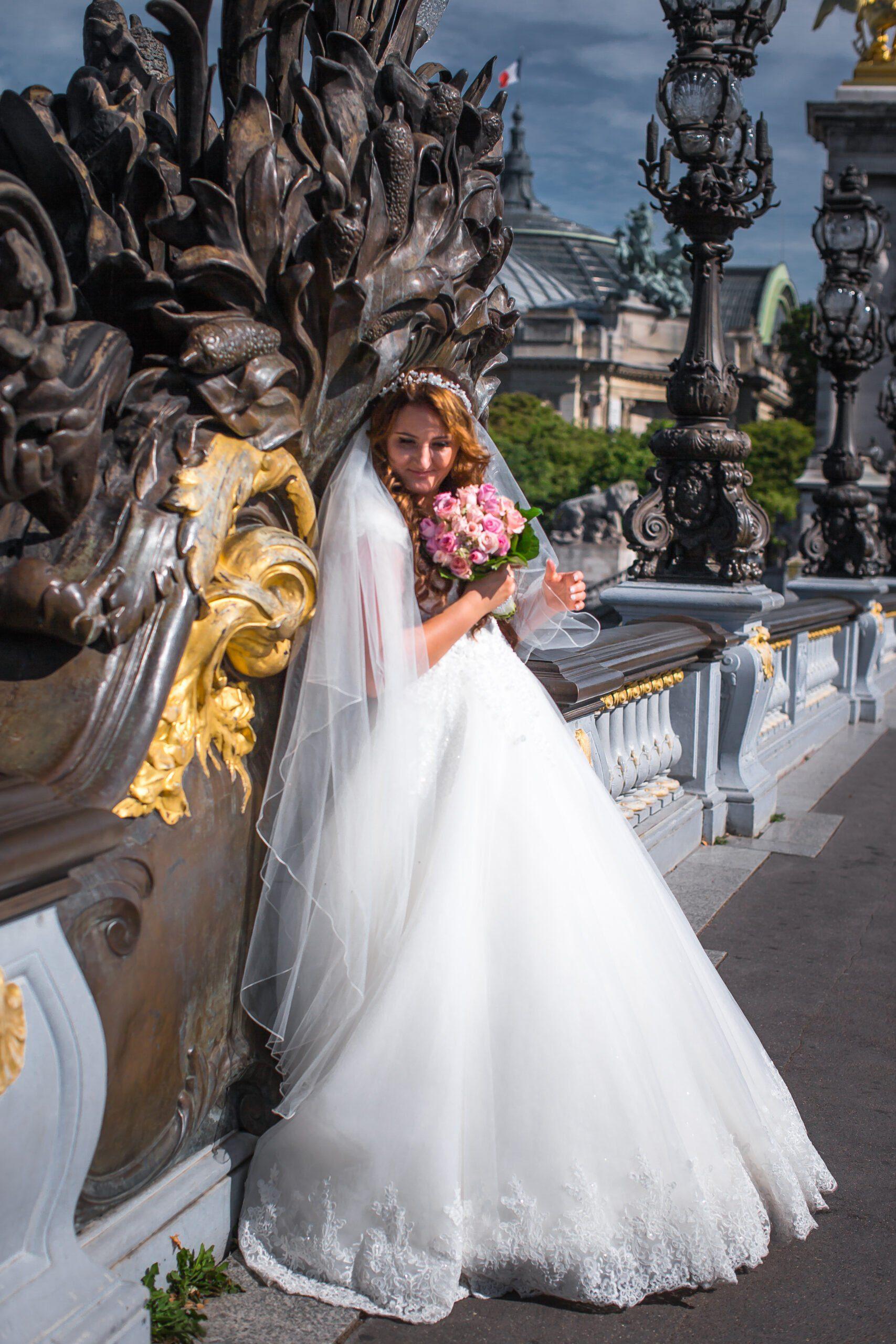 красивая свадьба в Париже