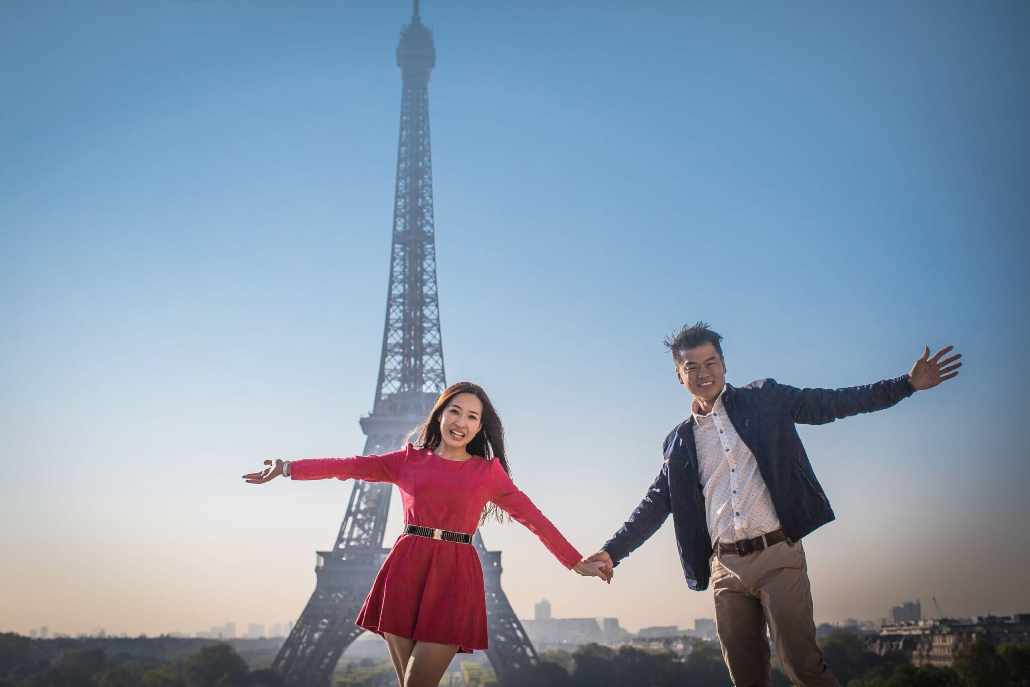surprise proposal paris